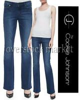 Womens Cj By Cookie Johnson Grace Bootcut Jean Zapp Wash Size 25