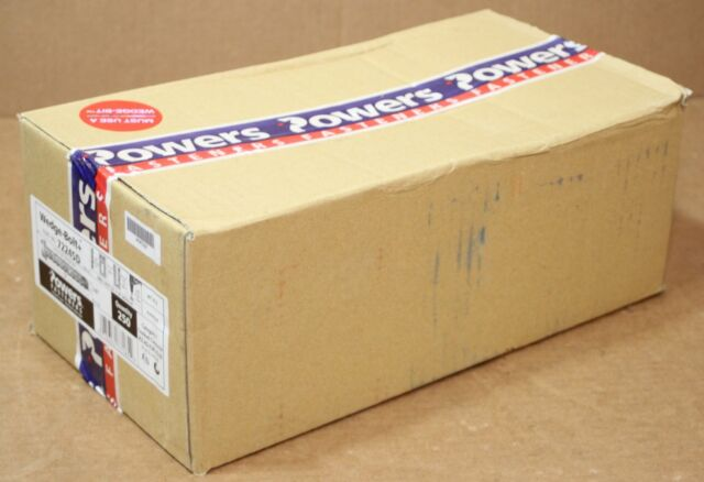"""Powers 7224SD Wedge Bolt 3//8""""X3"""" 2 Boxes of 50 for 100 total"""