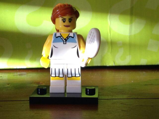 LEGO Minifigure Tennis Player Series 3