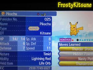 Details about 6IV Shiny Pikachu Pokemon Starter Strategy Guide  [Ultra/Sun/Moon]