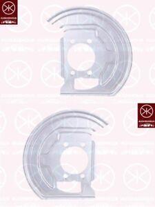 Spritzblech-Bremsstaubblech-Ankerblech-Satz-vorne-Nissan-Qashqai-Bj-06-13