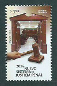 Mexico Mail 2016 Yvert 2994 MNH New System Justice