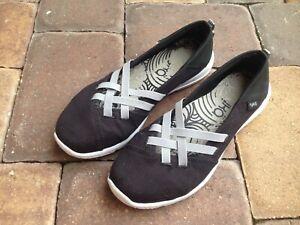 RYKA-Aerial-Women-039-s-Black-Slip-On-Comfort-Sneakers-Shoes-Walking-Size-8-5M-WOW
