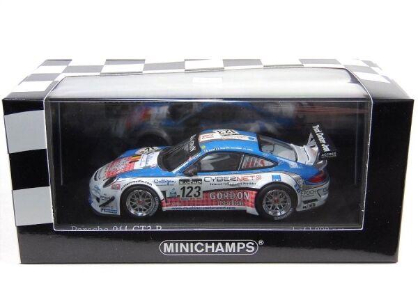 Porsche 911 gt3 r no. 123 muehlner Motorsport - 24h spa 2011 (Fumal thiry rosenbl