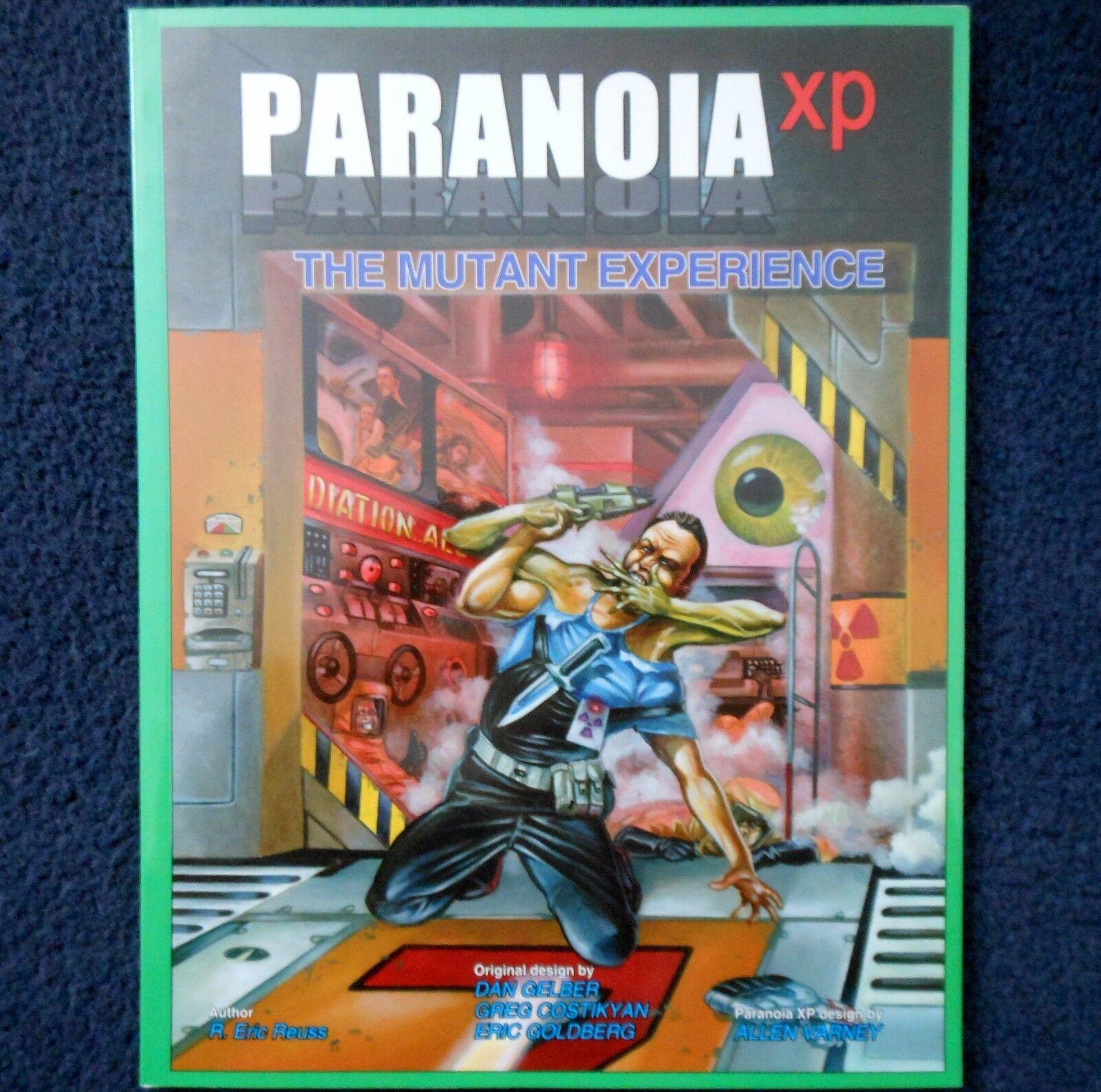 2005 das mutanten - erfahrung paranoia xp abenteuer modul mungo sci - fi - map 6634