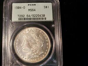 1904-O Morgan Silver Dollar PCGS MS64