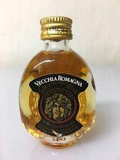 Mignon Miniature Vecchia Romagna Brandy Etichetta Nera 3cl 38% Vol