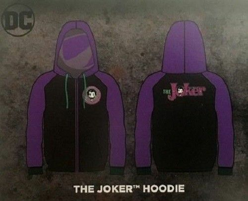 DC World's Finest Collection THE JOKER windbreaker- Hoodie XL