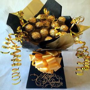 Mini Hajj Mubarak Ferrero Rocher Sweet Bouquet Chocolate Bouquet Ebay