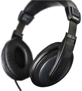 Hama Over Ear Stereo TV Kopfhörer HiFi Basic4TV Kopfhörer 6M Kabel 184013 Klinke