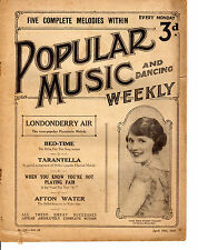SHEET MUSIC - POPULAR MUSIC & DANCING WEKKLY-  ENID STAMP-TAYLOR (April 1926)