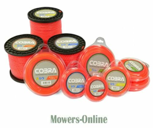 COBRA 1.6MM NYLON TRIMMER LINE SL16M15 15M PACK