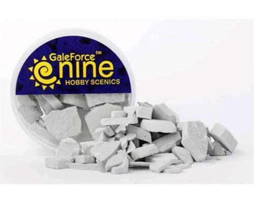 Pietre per Basette Galeforce9 Hobby Round Concrete Rubble Mix GFS025