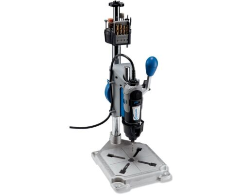 and Flex-Shaft To... Drill Press Rotary Tool Holder Dremel 3-in-1 Workstation