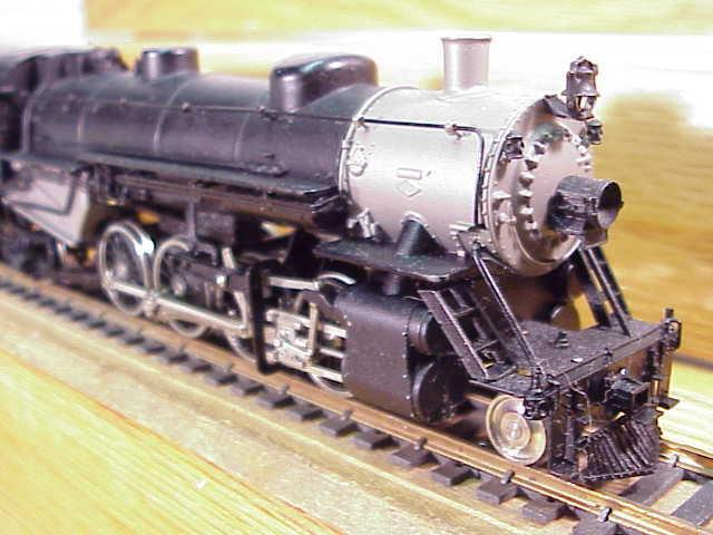 Samhongsa Brass HO PRR Loco 2-8-2 & Tender Runs Korea VG+Deal