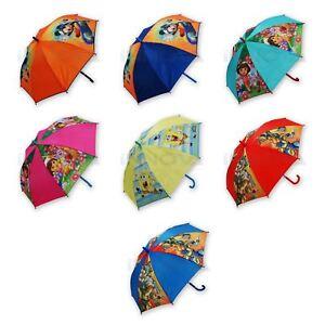 5ad4aed9fb421 Children Kids MICKEY MOUSE DORA GORMITI Brolly PVC Umbrella Girls ...