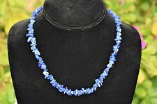 "CHARGED Premium Lapis Lazuli Crystal Necklace + 18"" Healing Energy REIKI WOW!!!"