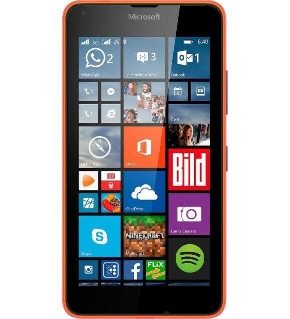 Microsoft Lumia 640 Dual-Sim 8 GB orange -simlockfrei- generalüberholt