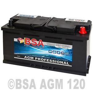 Solarbatterie-120AH-12V-AGM-GEL-USV-Batterie-Wohnmobil-Boot-Schiff-Akku-100Ah