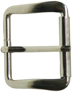 "unisex 1.2/""//3cm FRONHOFER Classic silver belt buckle modern buckle"