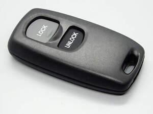 Fernbedienung Schlüssel Funk Fernbedienung Gehäuse 2 Tasten für Mazda