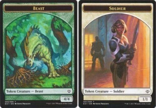 - Archenemy: Nicol Bolas Common 4 x Beast 005//005 001//005 // Soldier Token