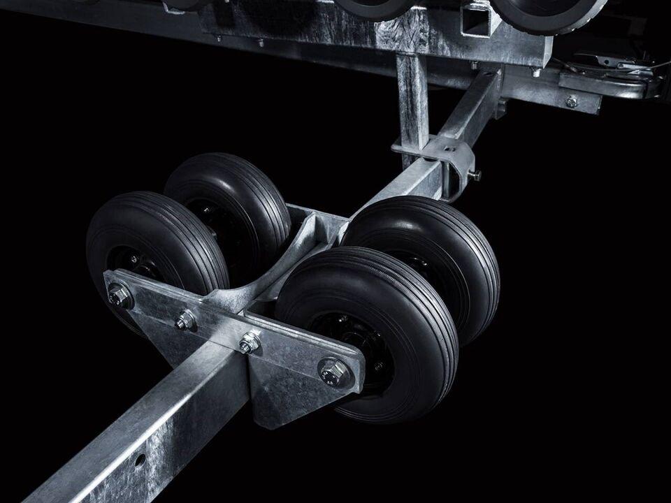 Trailer, Brenderup Brenderup SRX 2000 KG - 22 fod, lastevne