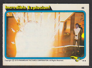 Topps-Star-Trek-The-Motion-Picture-1980-46-Incredible-Explosion