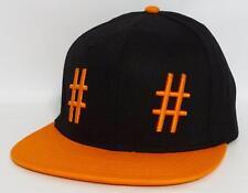 Been Trill   Hashtag   Mall Ratz Mens Snapback Black Orange Hat Ball Cap  New NWT 978ffd3418b