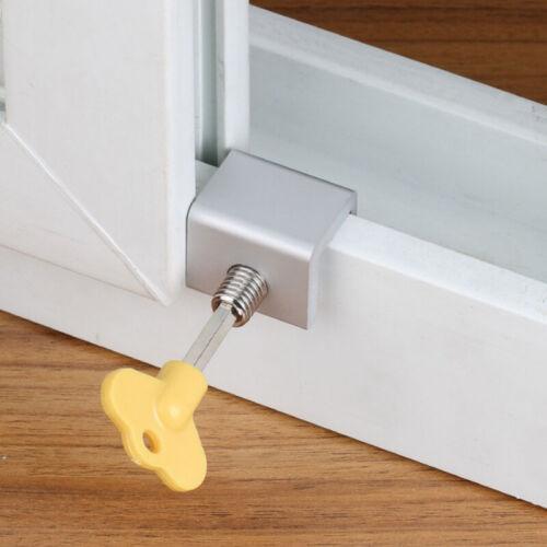 Kids Sliding Door Windows Lock Restrictor Children Protection Security Safety