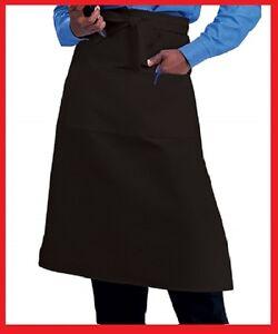1-waiter-waitress-bistro-aprons-black-or-white-2-pocket-premium-polyester