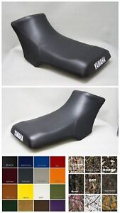 Yamaha Blaster 200 Seat Cover YFS200  2-tone BLACK /& GRAY rear or 25 Colors ST