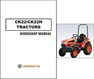 kioti ck22 manual