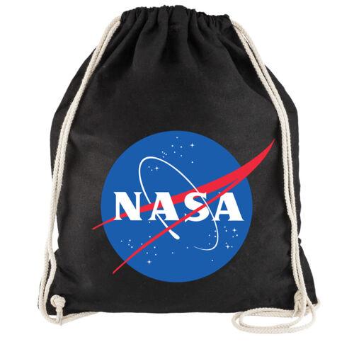 """Nukular Turnbeutel /""""NASA Logo"""" Space Weltraum Meatball Kugel Erde ISS Vintage"""