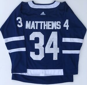 the best attitude 60957 0fdca Details about PSA/DNA Toronto Maple Leafs #34 AUSTON MATTHEWS Signed  Autographed Hockey Jersey