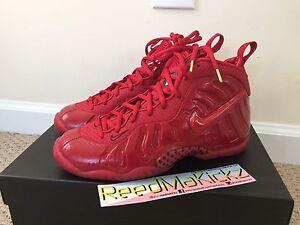 buy popular 2e58e 635e8 Image is loading Nike-Air-Little-Posite-Foamposite-Gym-Red-Grade-