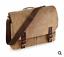 bolsa-de-hombre-Mujer-Vintage-Lona-Cartera-Mensajero-quadra-100-algodon miniatura 9