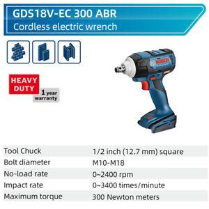 Bosch GDS GDS 250-LI / 18V-EC 300 ABR Impact Wrenches 12.7mm Power Tool 0.5 inch
