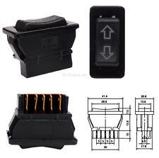 12V Schalter für elektrische Fensterheber Auto KFZ Taster Wippschalter #5579