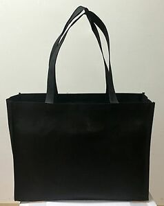 SHOPPING BAGS ECO FRIENDLY REUSABLE RECYCLABLE GIFT PROMO BAG (LARGE) 10 PIECES