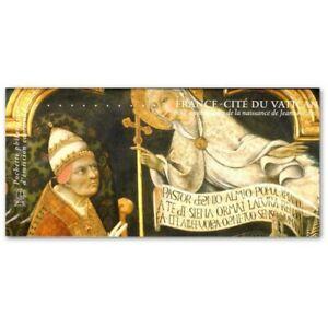 EMISSION COMMUNE (2012) VATICAN : 600è anniversaire naissance Jeanne d'Arc