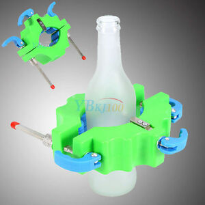 Glass bottle cutter stained recycle tool wine bottles for Diy wine bottle cutter
