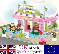 Princess Friends Snooker Play House w/ Figures Compatible Building Bricks #B0527