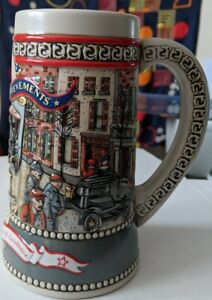 Vtg-Miller-High-Life-1987-Great-American-Achievement-Ford-Model-T-Beer-Stein-2