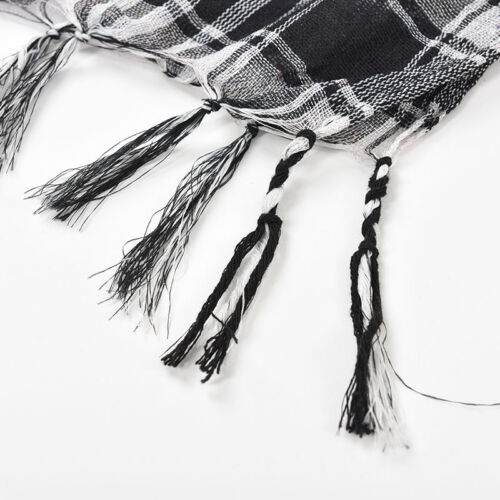 Reliable Cool Arab Shemagh Keffiyeh Military Tactical Palestine Scarf  Shawl RL