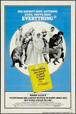 EVERYTHING YOU ALWAYS WANTED TO KNOW ABOUT SEX - 1972 Orig 27x41 Movie Poster -B