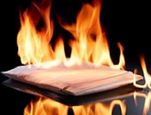 7x9in Feuersichere Dokumententasche Dokumentenmappe Tresor FEUERFEST Firebag dok