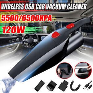5500/6500PA sans Fil Main Portable Aspirateur Petit Mini Auto Voiture Maison