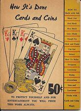 Complete expose of tested formulas for card men. Making Slick Card Paste Rough!