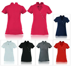 Women-039-s-Tunic-Beauty-Hairdressing-SPA-Therapist-Beauticia-Massage-Salon-Uniform